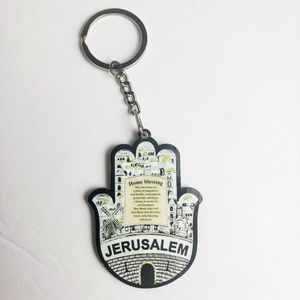 Jerusalem Hand Key Chain